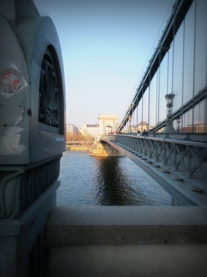 Crossing the Danube.