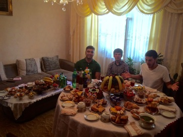 Azim's home.